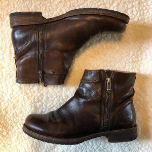 Frye Chelsea Double Zip Boots